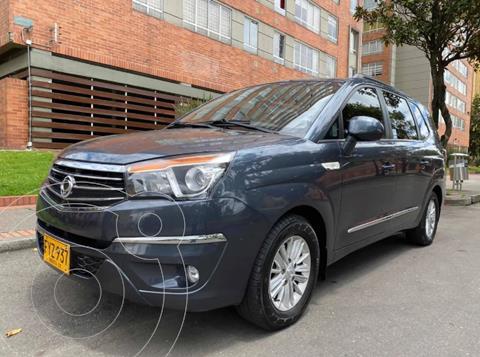 SsangYong Rodius 2.0L 4x2 Diesel Aut usado (2018) color Gris precio $88.900.000