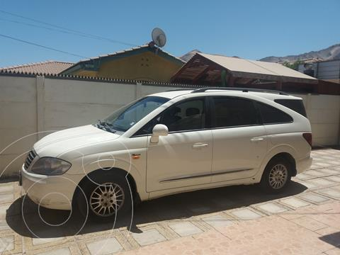SsangYong Stavic 2.7 TDi 4x4 Aut  usado (2012) color Blanco precio $9.000.000