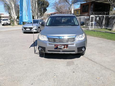Subaru Forester 2.0i X  usado (2011) color Plata precio $9.890.000