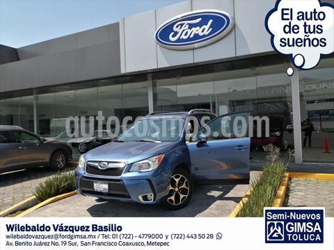 Subaru Forester XT usado (2016) color Azul Electrico precio $325,000