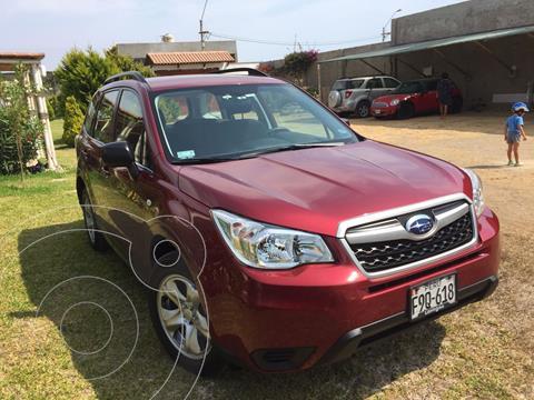 Subaru Forester 2.0i AWD X usado (2014) color Rojo Perla precio u$s19,500