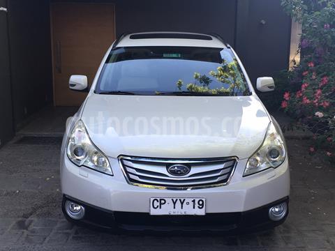 Subaru Outback 2.5i 3S AWD  usado (2010) color Blanco precio $7.490.000