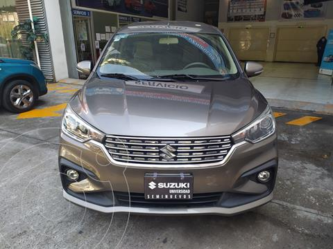 Suzuki Ertiga GLX Aut usado (2019) color Gris precio $275,000
