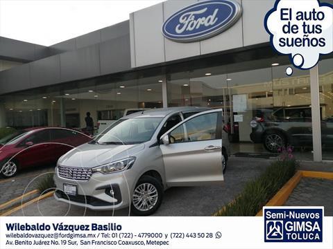 Suzuki Ertiga GLX Aut usado (2019) color Plata precio $275,000
