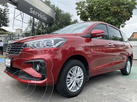 Suzuki Ertiga GLX Aut usado (2019) color Rojo precio $290,000