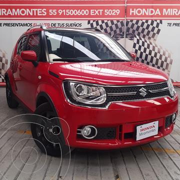 Suzuki Ignis GLX Aut usado (2019) color Rojo financiado en mensualidades(enganche $62,500 mensualidades desde $5,069)