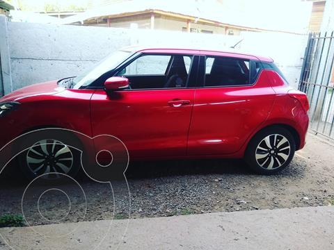 Suzuki Swift 1.2L GLX  usado (2018) color Rojo precio $9.200.000