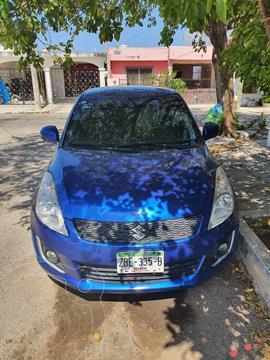 Suzuki Swift 1.4L usado (2014) color Azul Rock precio $119,000