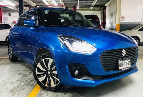 Suzuki Swift GLX usado (2019) color Azul financiado en mensualidades(enganche $50,000 mensualidades desde $5,726)