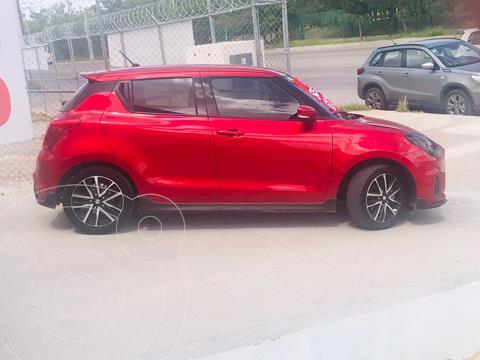 Suzuki Swift 1.4L usado (2021) color Rojo precio $315,000