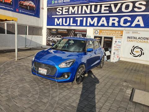 Suzuki Swift GLX usado (2018) color Azul precio $220,000