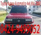 Foto venta carro usado Toyota Autana Automatico 4x4  (2000) color Rojo precio BoF10.000
