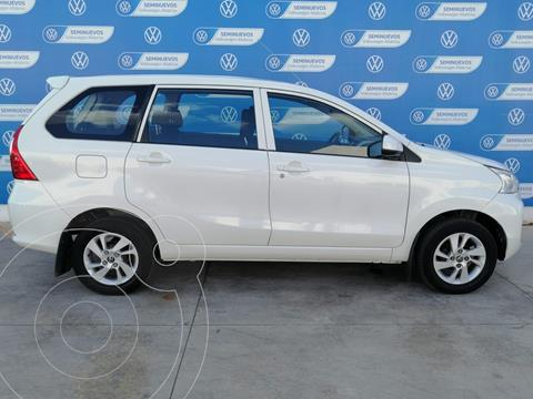 Toyota Avanza XLE 4CIL 1.5L  99HP AA EE BA ABS 7OCP TA usado (2018) color Blanco precio $205,000