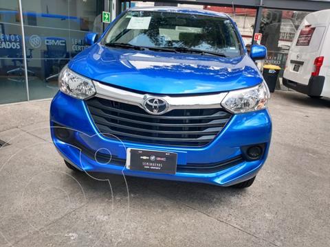 Toyota Avanza LE Aut usado (2019) color Azul financiado en mensualidades(enganche $22,500)