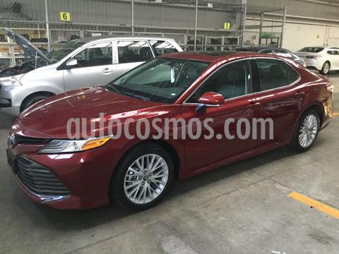 Toyota Camry XLE 2.5L Navi usado (2020) color Rojo Cobrizo precio $490,000