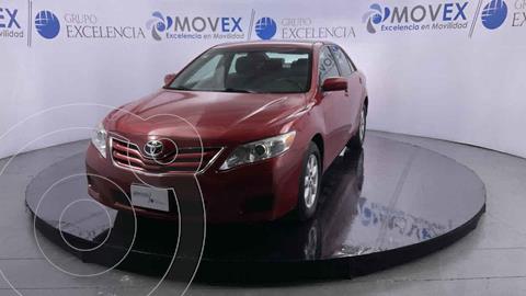 Toyota Camry LE 2.4L usado (2011) color Rojo precio $175,000