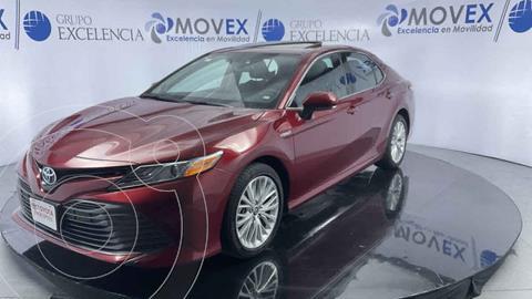 Toyota Camry XLE 2.5L Navi usado (2019) color Rojo precio $475,000