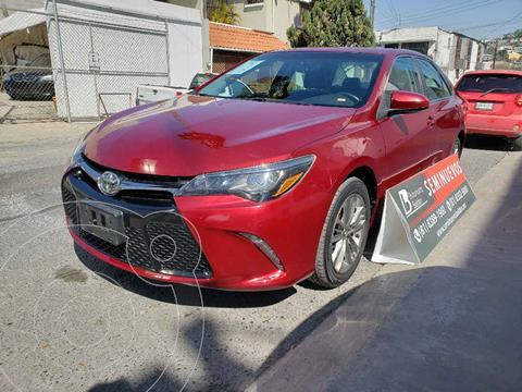 Toyota Camry XSE 3.5L V6 usado (2016) color Rojo precio $248,000
