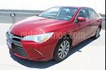 Foto venta Auto usado Toyota Camry XLE 2.4L (2015) color Rojo precio $215,000