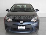 Foto venta Auto usado Toyota Corolla 4p Base L4/1.8 Aut (2016) color Gris precio $219,000