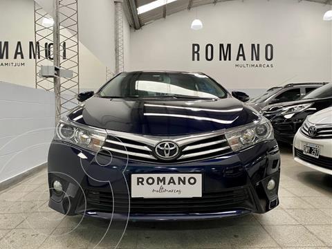 Toyota Corolla 1.8 SE-G Aut usado (2014) color Azul Oscuro precio $1.800.000