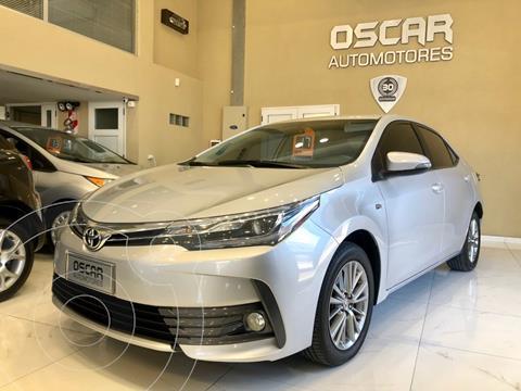 Toyota Corolla 1.8 XEi CVT usado (2017) color Gris Plata  precio $1.879.000