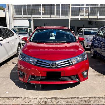 Toyota Corolla 1.8 XEi usado (2015) color Rojo precio $1.850.000