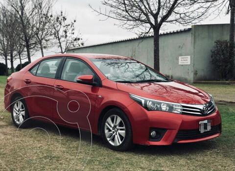 Toyota Corolla 1.8 XEi usado (2015) color Rojo precio $1.730.000