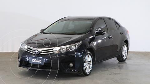 Toyota Corolla 1.8 XEi Pack usado (2016) color Negro precio $2.090.000