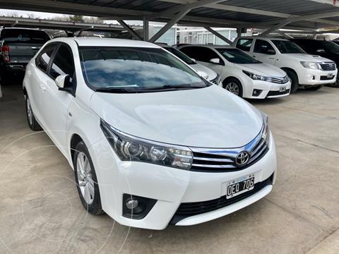 Toyota Corolla 1.8 XEi Pack Aut usado (2014) color Blanco precio $1.720.000