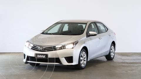 Toyota Corolla 1.8 XLi usado (2017) color Gris Plata  precio $1.820.000