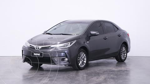 Toyota Corolla 1.8 XEi CVT usado (2017) color Gris Oscuro precio $2.060.000