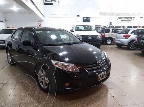 Toyota Corolla 1.8 XEi Aut usado (2009) color Negro precio $930.000