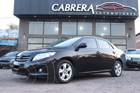 Toyota Corolla 1.8 Xei L/08 Pack Aut usado (2009) color Negro precio $850.000