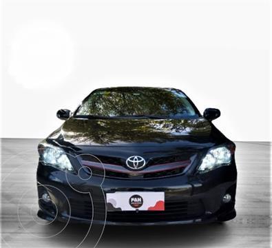 Toyota Corolla 1.8 usado (2012) color Negro precio $1.600.000