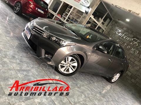 Toyota Corolla 1.8 XEi usado (2015) color Gris Oscuro precio $1.690.000