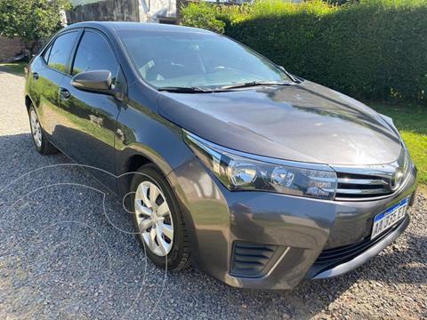 Toyota Corolla 1.8 XLi usado (2011) color Gris Oscuro precio $1.480.000