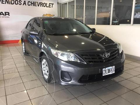 Toyota Corolla 1.8 XLi usado (2013) color Gris Oscuro precio $1.300.000