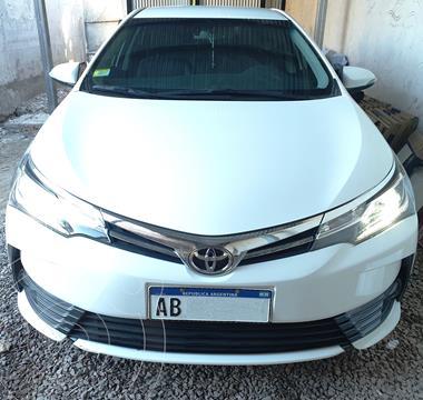 Toyota Corolla 1.8 SE-G Aut  usado (2017) color Blanco precio $2.590.000