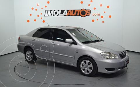 Toyota Corolla 1.8 SE-G Aut usado (2008) color Plata precio $650.000