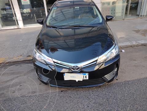 Toyota Corolla 1.8 Se-g L/14 Cvt usado (2018) color Negro precio $2.400.000