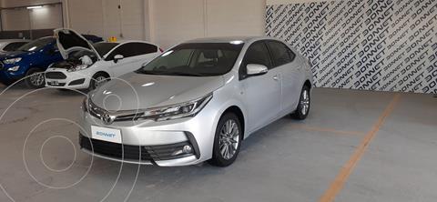 Toyota Corolla 1.8 XEi usado (2018) color Gris precio $2.550.000