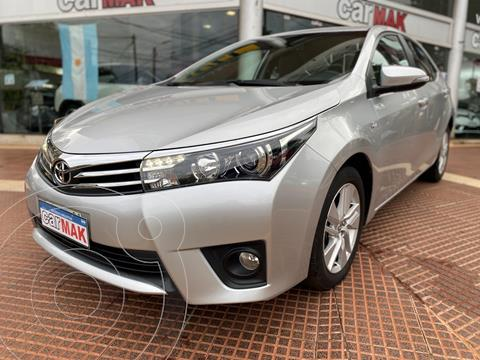 Toyota Corolla 1.8 XEi Pack usado (2014) color Gris financiado en cuotas(anticipo $1.000.000)