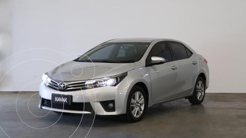 Toyota Corolla 1.8 XEi CVT usado (2016) color Gris Plata  precio $1.900.000