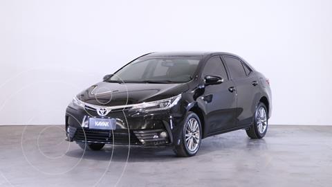 Toyota Corolla 1.8 XEi CVT usado (2018) color Negro precio $2.410.000
