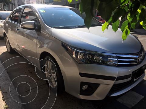 Toyota Corolla 1.8 XEi CVT usado (2014) color Gris Plata  precio $1.550.000