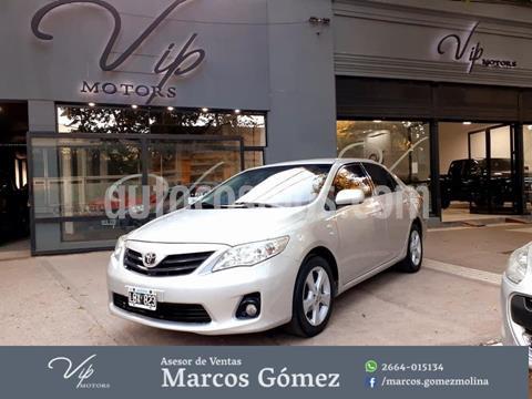 Toyota Corolla 1.8 XEi usado (2012) color Gris Claro precio $1.050.000
