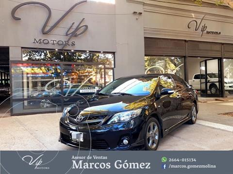 Toyota Corolla XRS usado (2014) color Negro precio $1.570.000