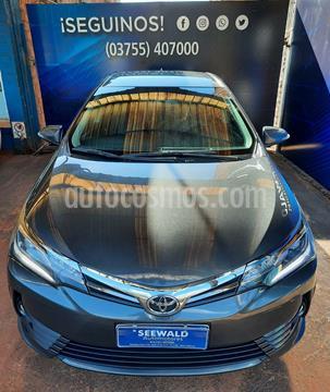 Toyota Corolla COROLLA 1.8 SE-G CVT L/17 usado (2018) color Gris Oscuro precio $2.480.000
