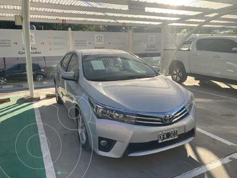 Toyota Corolla 1.8 XEi Pack Aut usado (2014) color Gris Claro precio $1.730.000